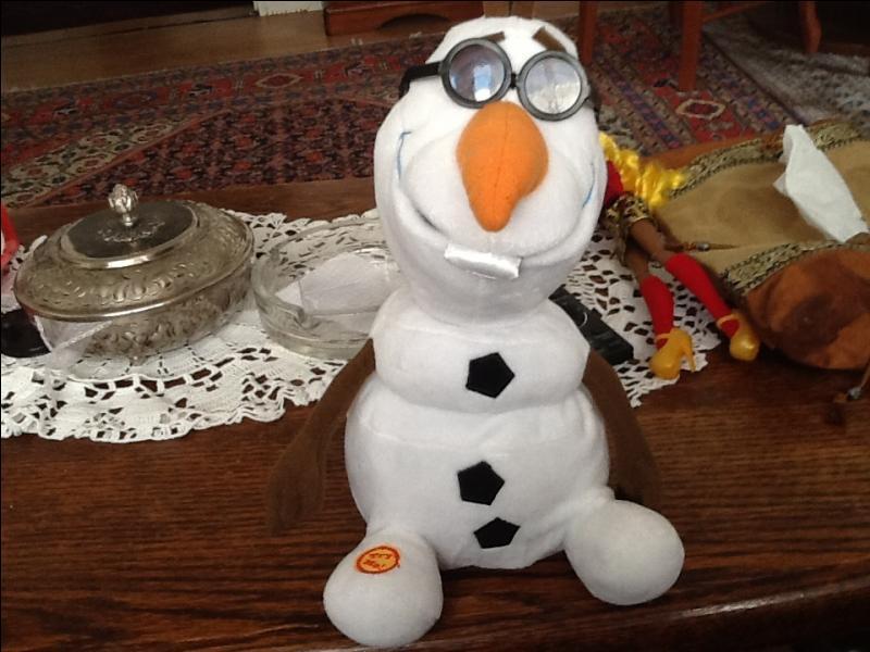 Quelle saison Olaf rêve-t-il de visiter ?