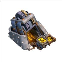Combien peut-on avoir de mines d'or avec la base de niveau 4 ?