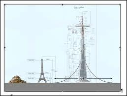 Quel est le bâtiment ayant un peu détrôné la Tour Eiffel à Paris ?