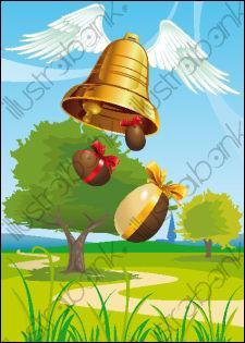 A quelle période les cloches de Pâques restent-elles silencieuses ?