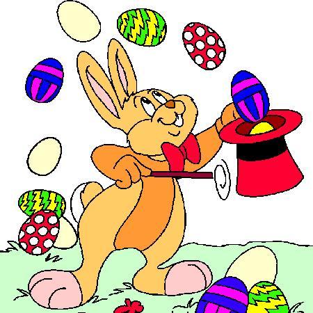 Les oeufs, les lapins, les cloches !