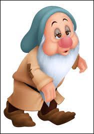 Il n'est pas bien guilleret ce nain de Disney. A votre avis, il porte quel prénom, ce regard triste ?