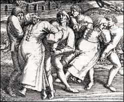 """Tout d'abord, quelle """"épidémie"""" très particulière se déclara à Strasbourg en juillet 1518 ?"""