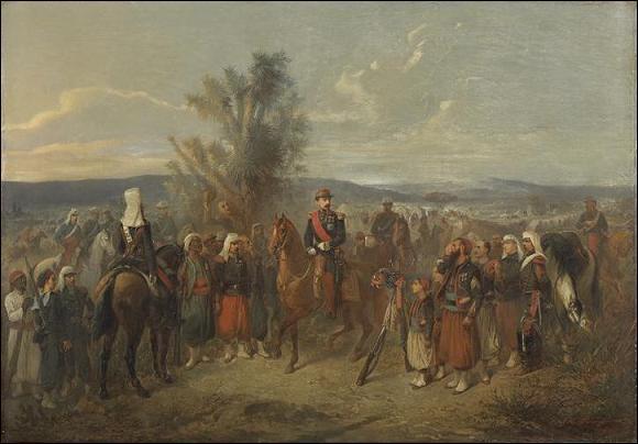 Pour quelle raison Napoléon III fut-il assisté d'un magicien en Kabylie ?