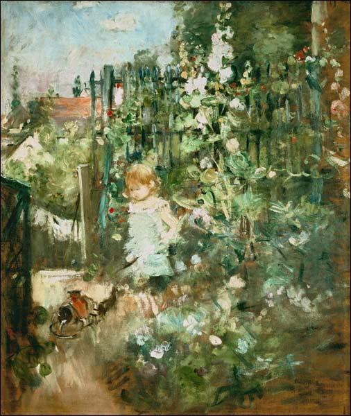 Qui a peint Fille dans le jardin ?