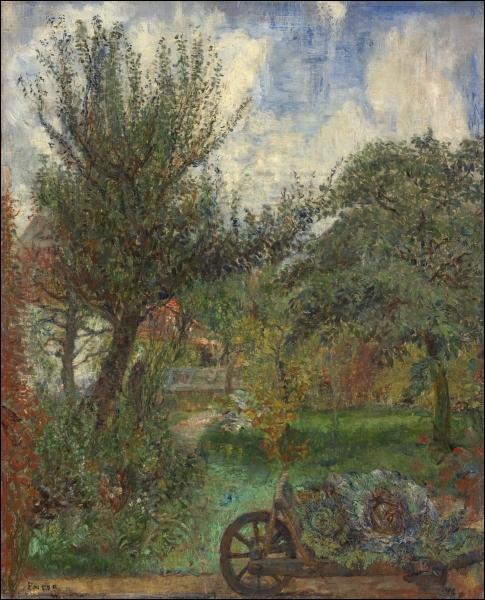 Qui a peint Le jardin de la famille Rousseau ?