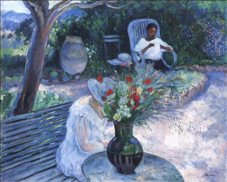 Qui a peint Le jardin au Pradet ?