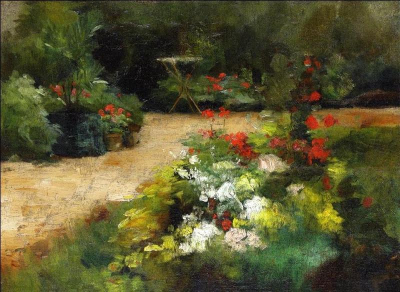 Qui a peint Le jardin ?