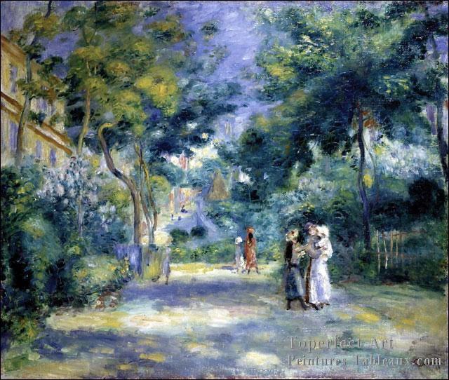 Qui a peint Le jardin à Montmartre ?