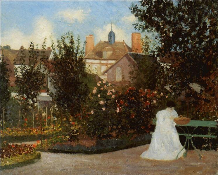 Qui a peint Jeanne dans le jardin ?