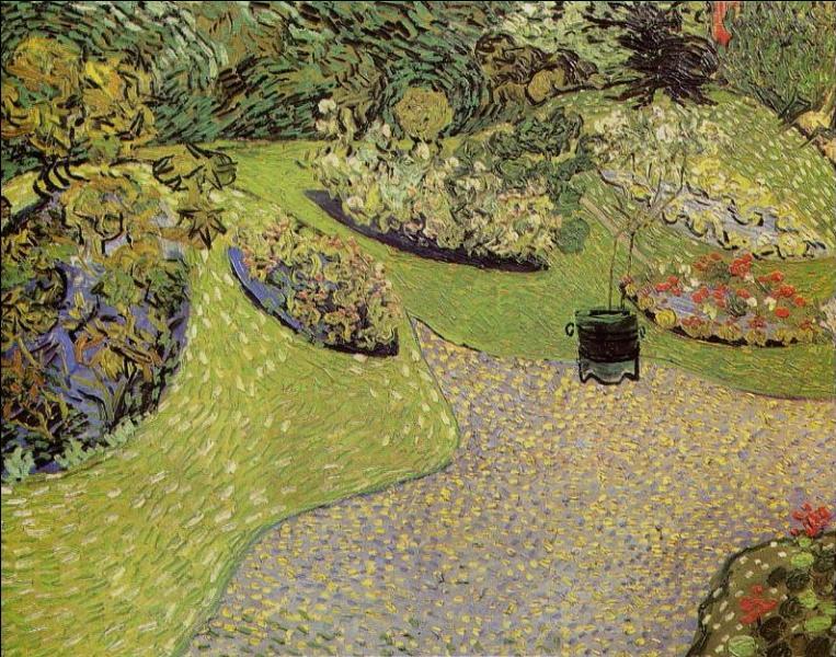 Qui a peint Jardin à Auvers ?