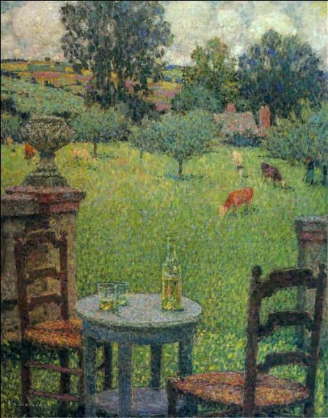 Qui a peint Le jardin de Gerberoy ?