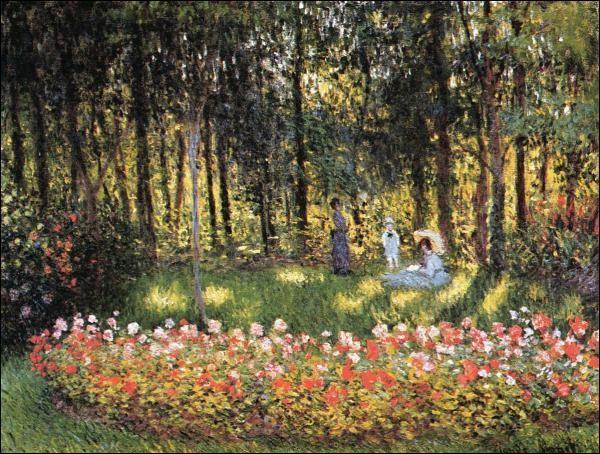 Quizz les jardins des peintres 2 quiz peintres jardins for Au jardin de la famille de fabreville