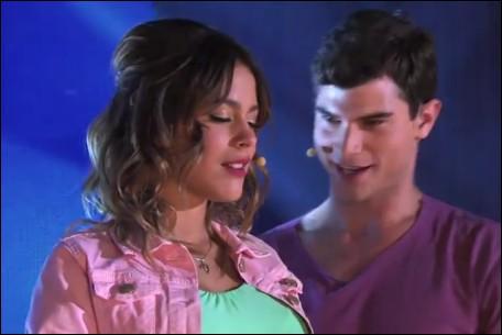 Quelle est la chanson que Violetta chante avec Diego ?