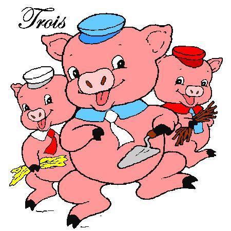 Ben mon cochon, tu profites !