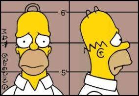 Les différents personnages des Simpson