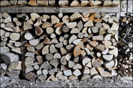 Ce bois de chauffage est ----------- pour l'hiver prochain.