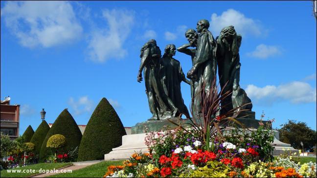 La guerre de Cent Ans, les Bourgeois, Rodin !