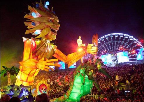 La baie des Anges, carnaval !