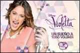 Comment s'appelle l'actrice qui joue le rôle de Violetta ?