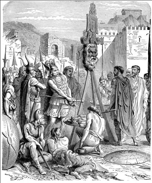 Nous sommes en 390 avant JC, mais cette citation est restée célèbre : Malheur aux vaincus (Vae Victis) !