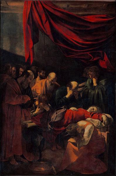 Qui a peint  La mort d'une vierge   ?
