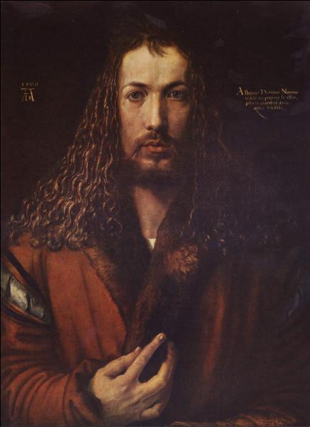 Qui a peint   Autoportrait à la fourrure  ?