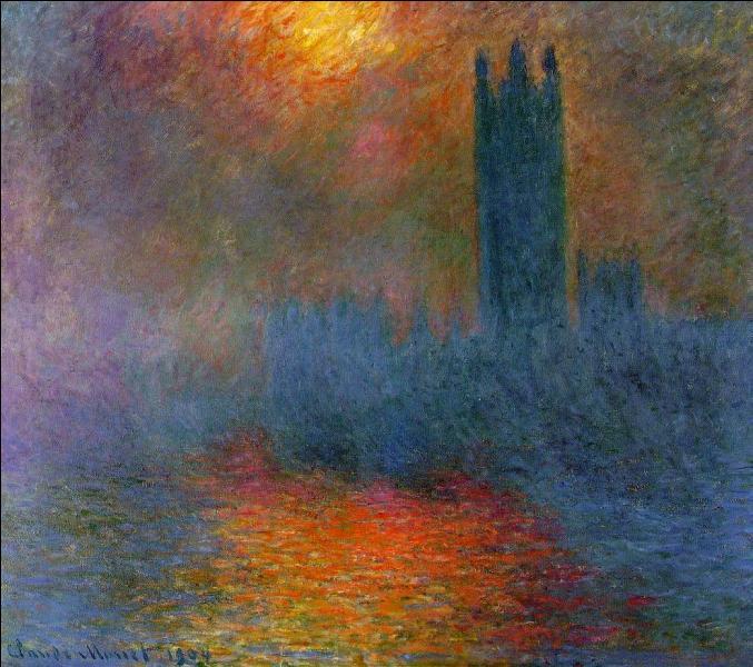 Qui a peint  Le Parlement  ?