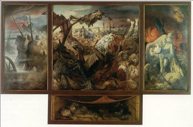 Qui a peint   La Guerre  ?