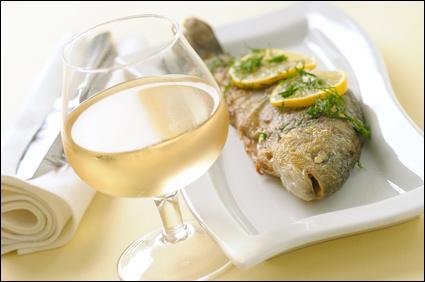 """Vin blanc et poisson pour un premier avril ! Quelle est l'orthographe traditionnelle de l'adjectif signifiant """"ivre"""" ?"""