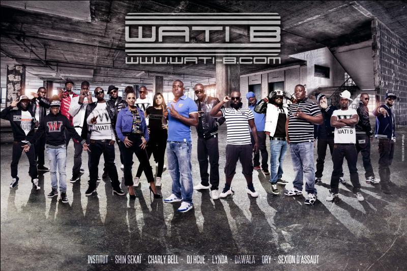 Quelles chanteuses font partie du label  Wati B  ?