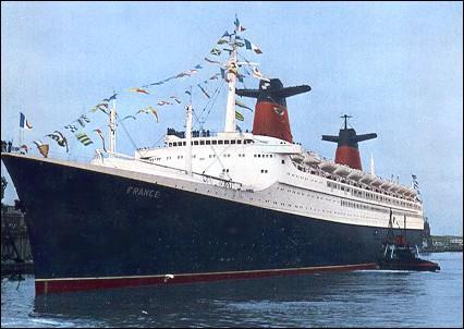 Chantiers navals : 'le France', 'le Normandie', 'le Queen Mary 2' !