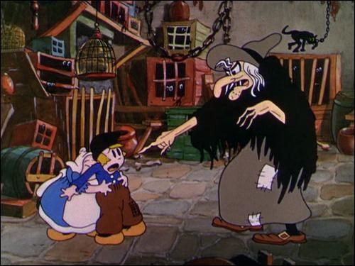 Dans quel court métrage de la série des Silliy Symphonies de Disney retrouve-t-on ces personnages ?