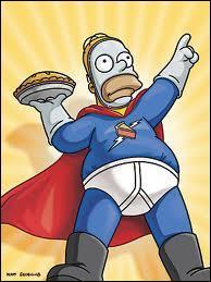 En quoi Homer est-il déguisé ?