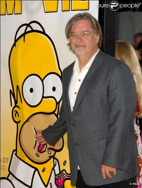 Sur quelle partie du corps d'Homer peut-on découvrir les initiales de Matt Groening ?