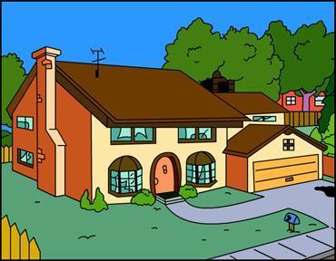 Quelle est l'adresse de la maison des Simpson ?