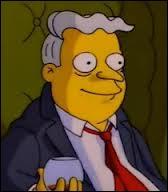 Comment le fils de M. Burns s'appelle-t-il ?