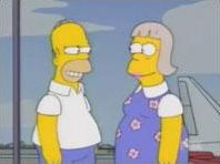 Les personnages de la série des Simpsons