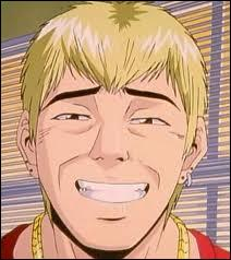 'GTO' : c'est forcément Onizuka Eikichi qui est montré.