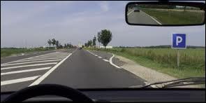 Les hachures que vous voyez au milieu de cette route porte le nom de zébras. Laquelle de ces affirmations est vraie ?