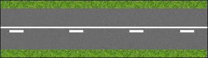 Cette ligne composée d'une ligne continue et d'une ligne discontinue accolée est ...
