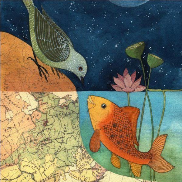 En 1972, quelle artiste a chanté 'un petit poisson, un petit oiseau s'aimaient d'amour tendre mais comment s'y prendre quand on est dans l'eau, quand on est là-haut' ? (Clip)