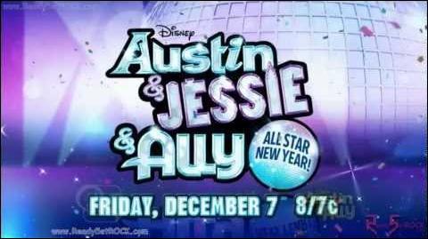 Jessie . Avec quelle série le cast de  Jessie  a-t-il fait un épisode ?