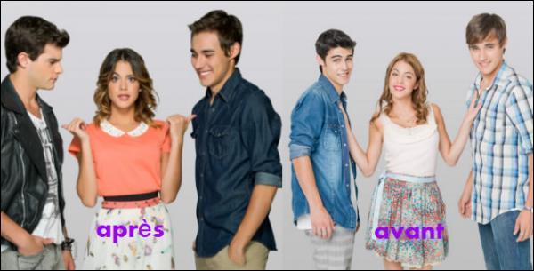 Disney Channel (Violetta, Liv et Maddie, Jessie)