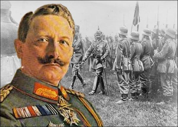 À l'issue de la guerre, il est désigné par les puissances alliées (article du traité de versailles) comme le principal responsable du conflit...