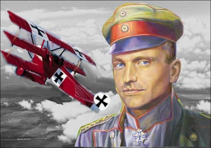 Comment est mort Manfred von Richthofen, légende de l'aviation allemande de la Première Guerre mondiale, plus connu sous le surnon du   Baron Rouge   ?