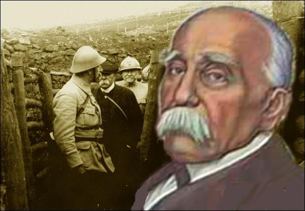 Georges Clémenceau, surnommé après 1918   le Père la Victoire  , accède en novembre 1917 aux postes de Président du conseil et de ministre de la guerre, succédant ainsi à...