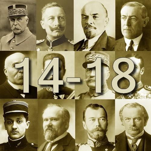 Personnages de la Première Guerre Mondiale