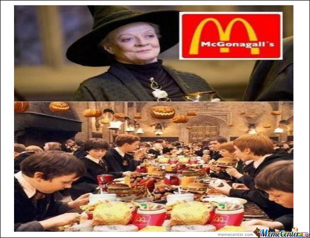 Vous avez une petite faim ? Tant mieux car Minerva a ouvert une nouvelle chaîne de restauration. L'image nous montre que cette chaîne s'inspire de :