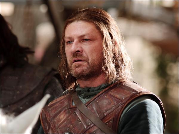 Au commencement de la série, quels sont les titres d'Eddard Stark ?